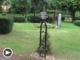 Eisenkreuz vom Grab der Familie Walther