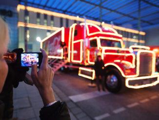 Foto Coca-Cola Weihnachtstour/fischerappelt