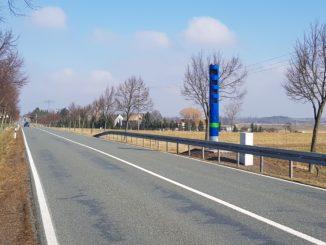 Maut-Säule zwischen Rothersdorf und Bach