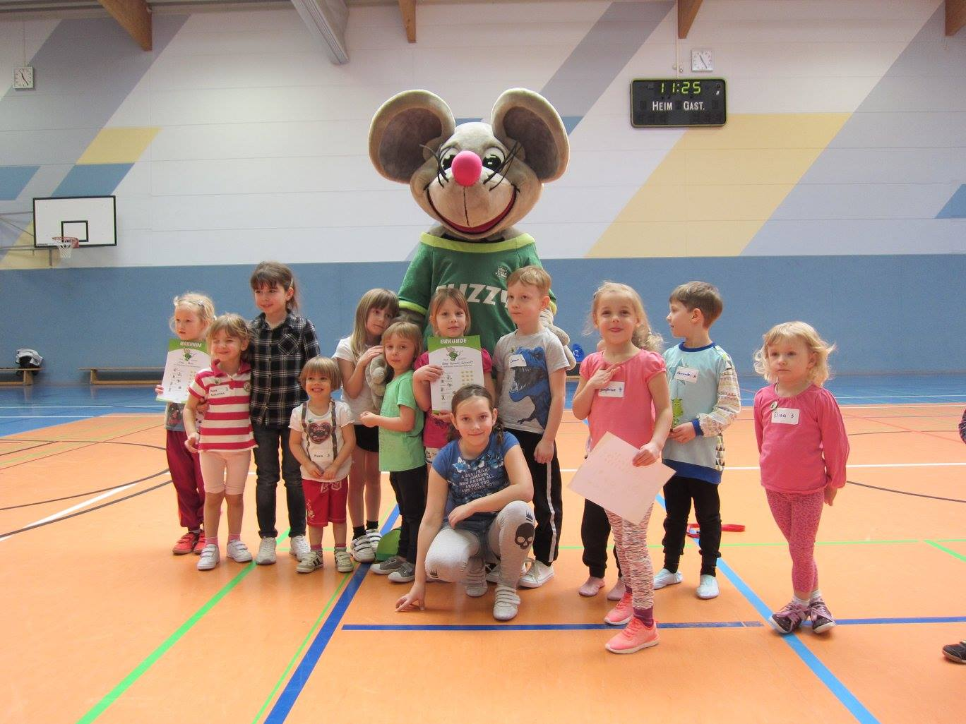 Flizzi beim Kinderfest, Foto: Colditzer Sportverein