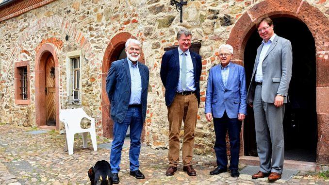 v.l.n.r. Peter Wolf, Hubertus von Below, Dr. Gerhard Barkleit, Georg-Ludwig von Breitenbuch MdL - Foto: Detlef Rohde