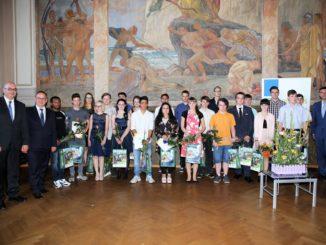 Auszeichnung der Hauptschüler 2018, Foto: Landkreis Leipzig