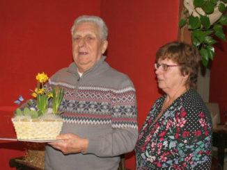 Hans Dittmann (l.) und Hannelore Blasko (Foto: Gert Teutsch)