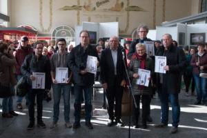 Die Preisträger der Schau in Dresden - Foto: Günther Schulze