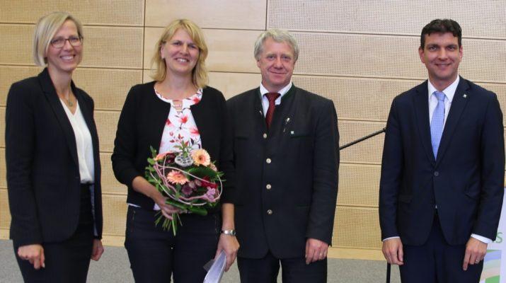 Ernennung Tina König (2 v.l.) - Foto: Landkreis Leipzig