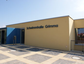 Schwimmhalle Grimma - Foto: Stadt Grimma