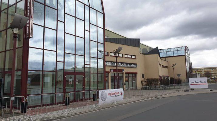 Muldentalhalle Impfzentrum