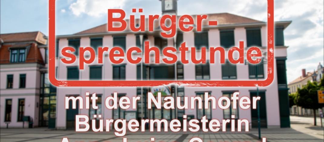 10. Online-Bürgersprechstunde mit Naunhofs Bürgermeisterin Anna-Luise Conrad (08.06.21)
