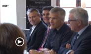 Rheinland-pfälzischer Innenminister zum Erfahrungsaustausch in Grimma